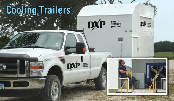 DXP Cooling Trailers